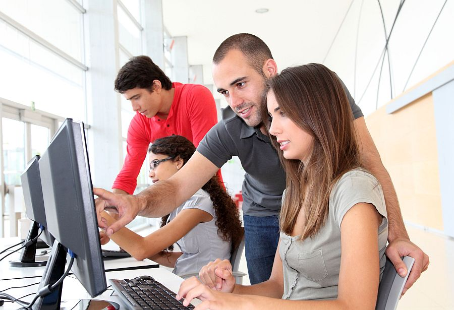 Молодые студенты фото